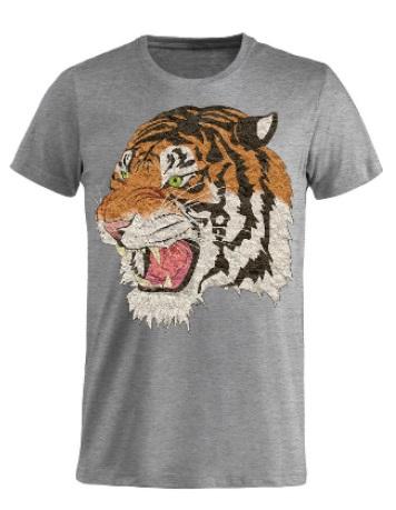 maglietta personalizzata grigia uomo