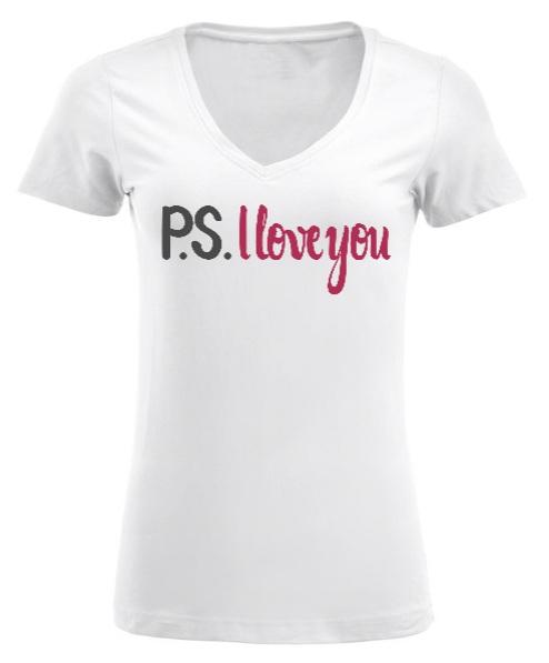 maglietta donna elasticizzata con scritta personalizzata