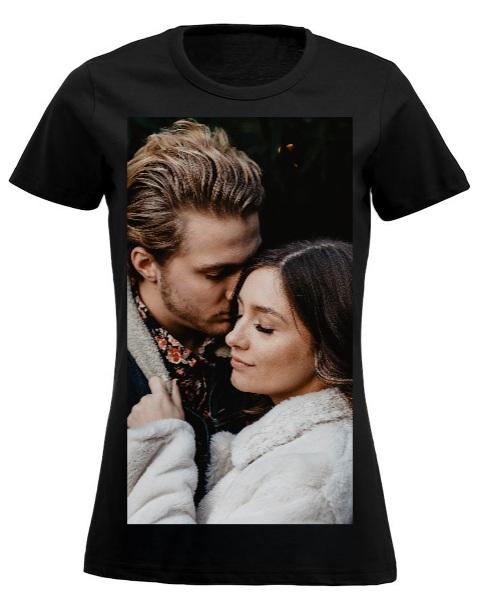 t-shirt personalizzata con foto colorata