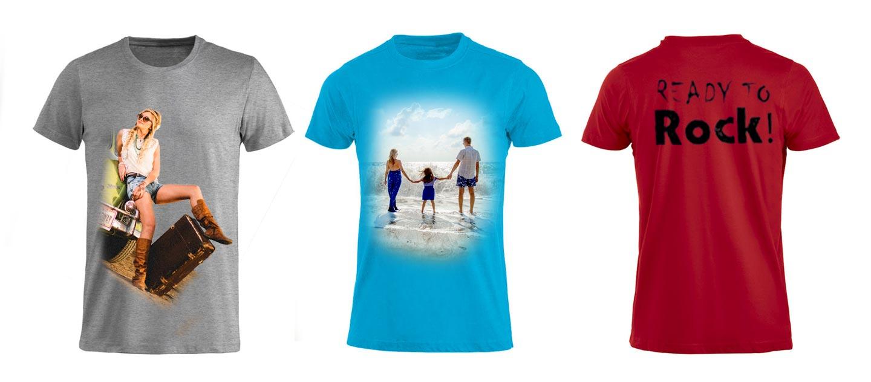 T-shirt personalizzate online foto e scritte