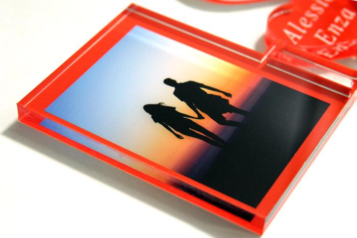 plexiglass con foto particolare