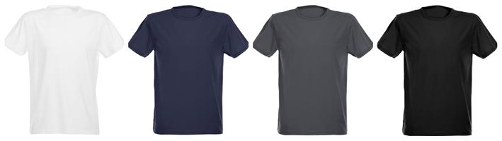 maglietta personalizzata aderente elasticizzata per uomo