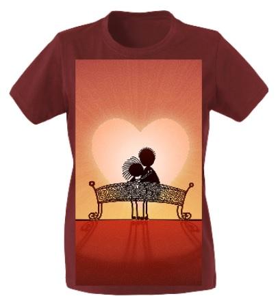 maglietta personalizzata classica donna con fotografia