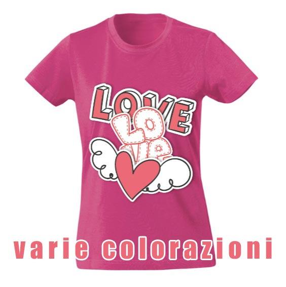 t-shirt personalizzata da donna classica