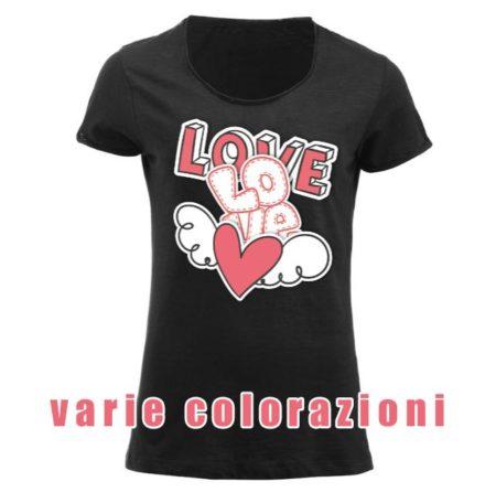 Maglietta e t-shirt personalizzata da donna derby