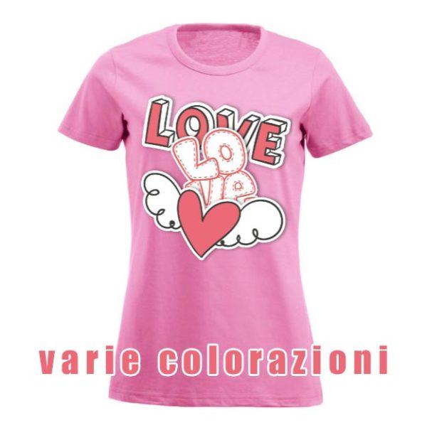 t-shirt personalizzata da donna stile fashion