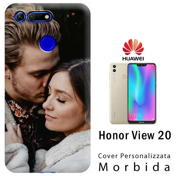 faf66ab58b Cover Morbida Personalizzata Honor View 20 | AcDigitale