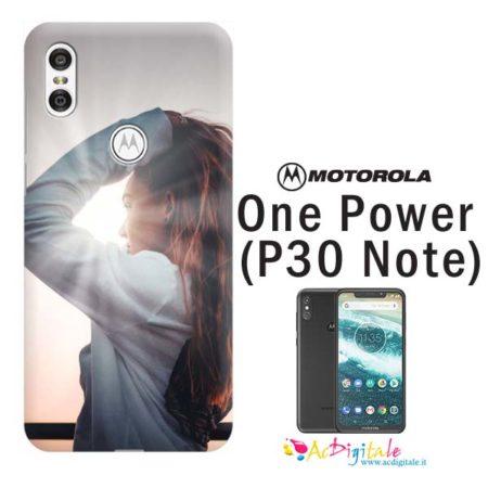 cover personalizzata motorola one power p30 note