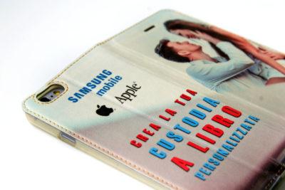 cover e custodie personalizzate a libro