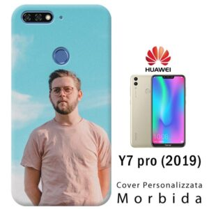 cover personalizzata huawei Y7 pro 2019