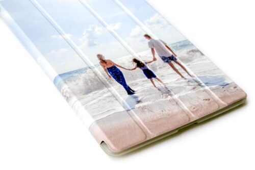 crea una smart cover personalizzata per tablet in ecopelle