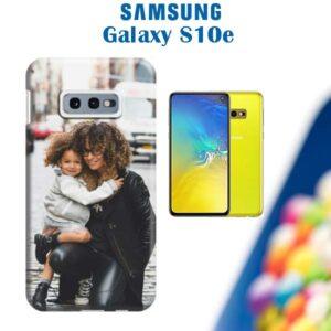 cover personalizzata galaxy S10e