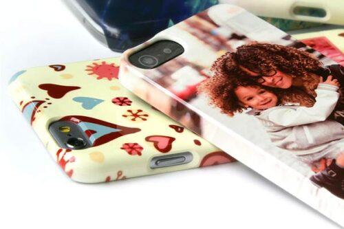 cover personalizzate rigide per smarphone iphone e galaxy