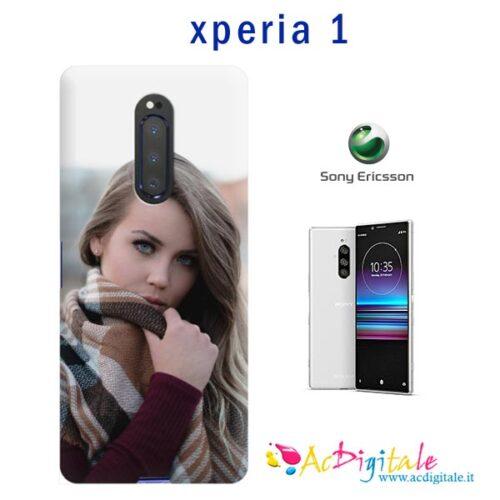 crea cover personalizzata sony Xperia 1