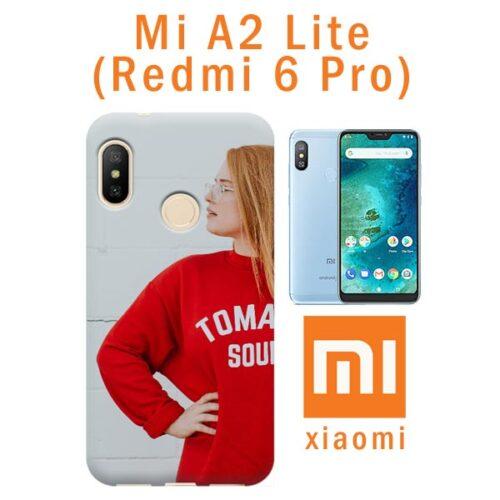 crea e acquista online cover morbida personalizzata Mi A2 Lite (Redmi 6 Pro)