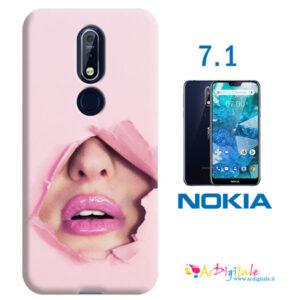 cover morbida personalizzata per Nokia 7.1