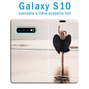custodia in ecopelle galaxy S10