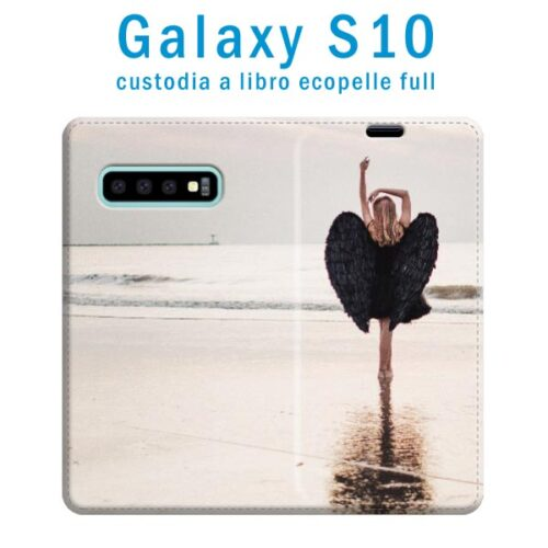 custodia in ecopelle galaxy S10