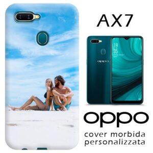 cover personalizzata Oppo AX7