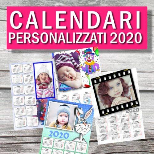 calendario monopagina personalizzato