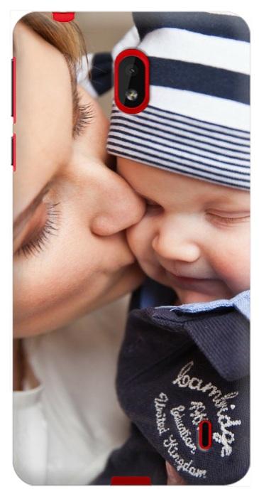 cover personalizzata con foto mamma figlio Nokia 1 plus