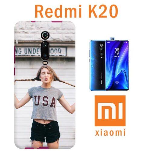 Cover morbida personalizzata con foto per Redmi K20