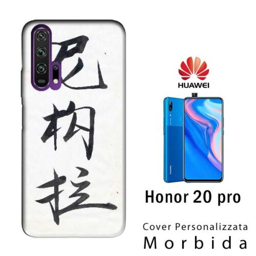 cover personalizzata per honor 20 pro