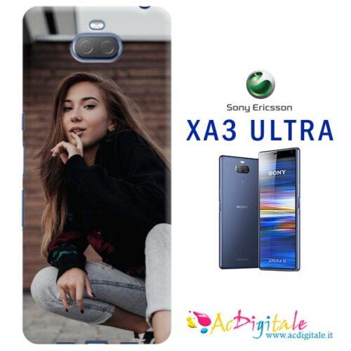 cover personalizzata Sony XA3 ultra