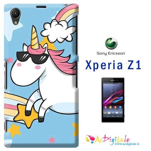 crea e acquista una custodia morbida personalizzata per sony Xperia Z1
