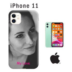 Cover morbida personalizzata per iPhone 11