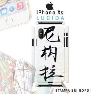 iPhone Xs cover personalizzata rigida