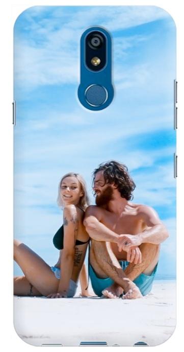 cover personalizzata Lg K40 con foto di coppia