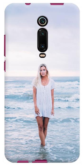Esempio di cover morbida personalizza per Redmi K20 con foto ragazza
