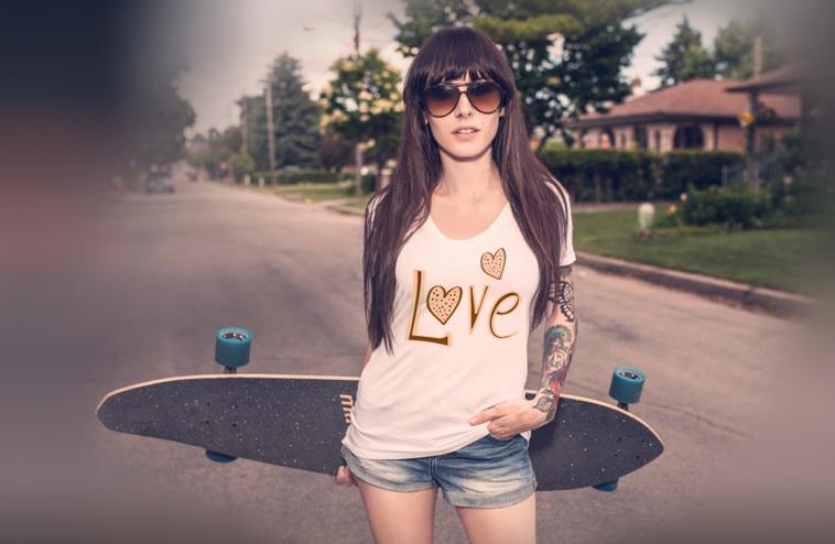 magliette e t-shirt personalizzate donna