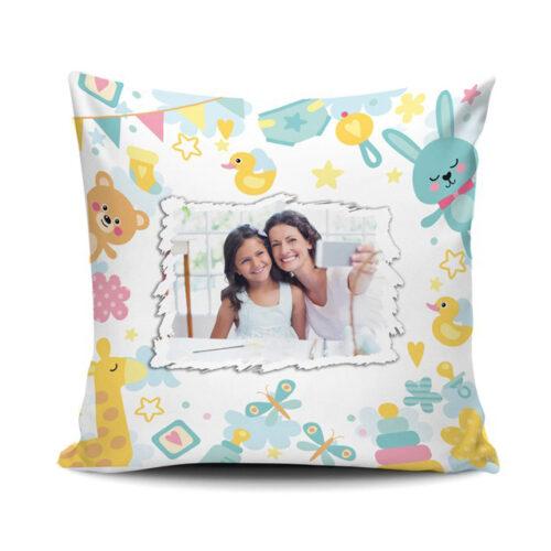 cuscino personalizzato animali per bambini
