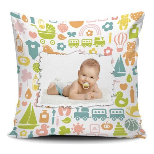 cuscino personalizzato per bambini