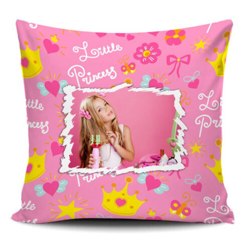 cuscino personalizzato little princess