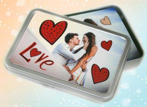 regali natale - love box personalizzato con foto