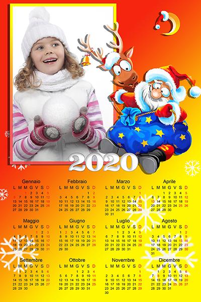 Natale 2021 Calendario.Calendari Natalizi Personalizzati Con Le Tue Foto Acdigitale