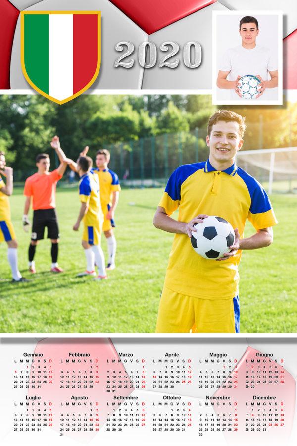 calendario personalizzato calcio italia