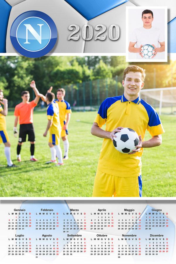 calendario personalizzato calcio napoli
