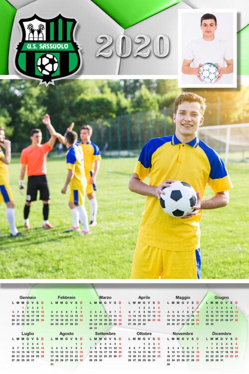calendario personalizzato sassuolo calcio