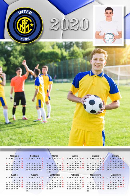 calendario personalizzato inter calcio