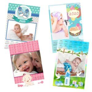 Calendari personalizzati baby - nuove nascite