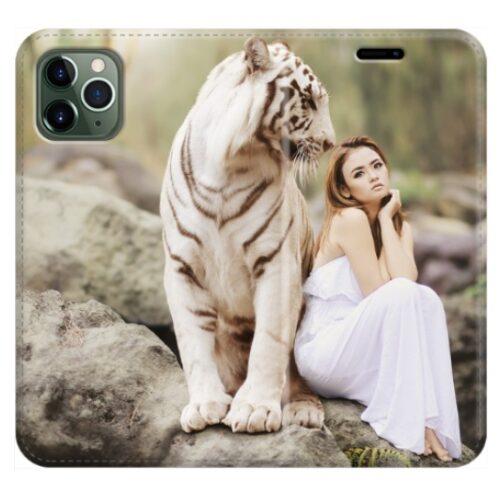 iPhone 11 Pro cover a libro personalizzata