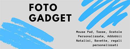 Gadget personalizzati con foto