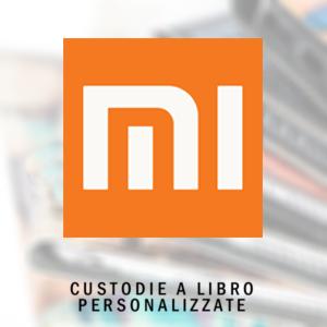 Custodie personalizzate a libro per Xiaomi