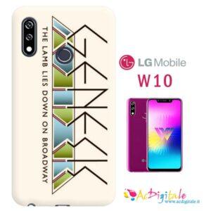 Cover personalizzata Lg W10 morbida