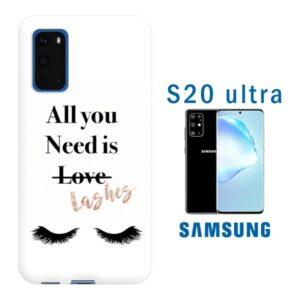 cover personalizzata galaxy S20 Ultra con foto