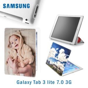 smart cover morbida personalizzata galaxy tab 3 lite